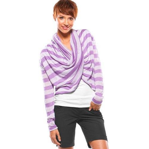 Oakley Infinity Throw Ladies Cardigan - Chrome Purple