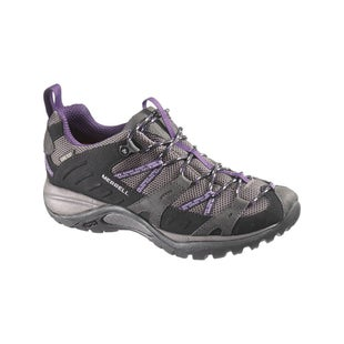 Merrell Siren Sport Gore Tex Ladies Hiking Shoes - Black Perfect Plum