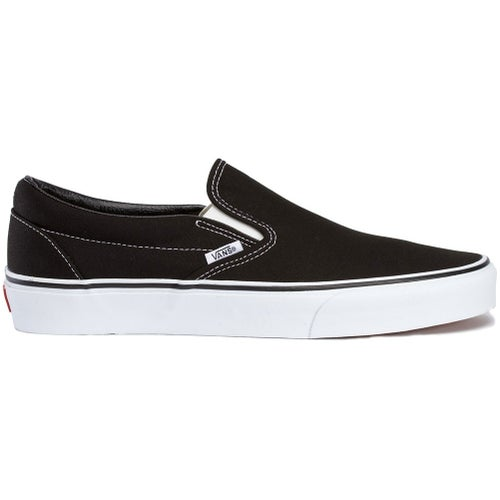 Vans Classic Slip On Shoes - Black