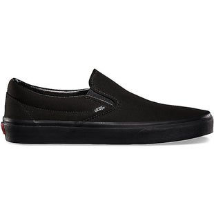 Vans Classic Slip On Shoes - Black Black