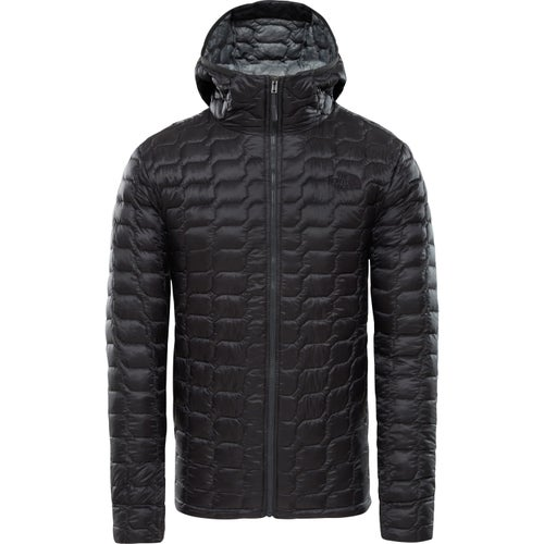 North Face Thermoball Hooded Jacket - Asphalt Grey Fusebox Grey