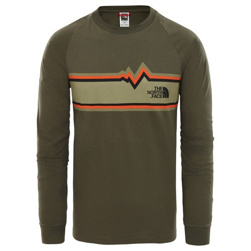 North Face Ones LS T-Shirt - New Taupe Green