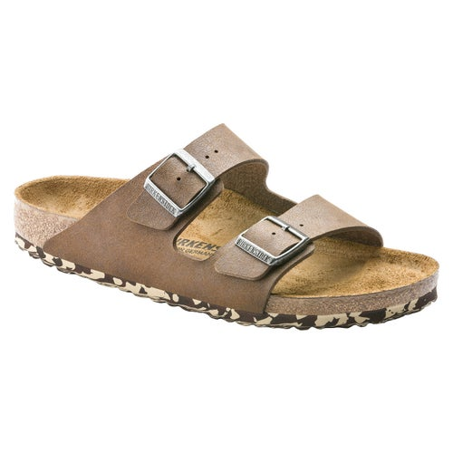 Birkenstock Arizona Microfiber Sandals - Sandwashed Brown