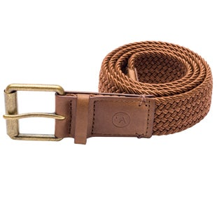 Arcade Belts Hudson Web Belt - Brown/caramel