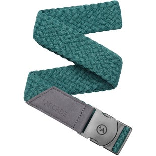 Arcade Belts Vapor Web Belt - Dorado Green