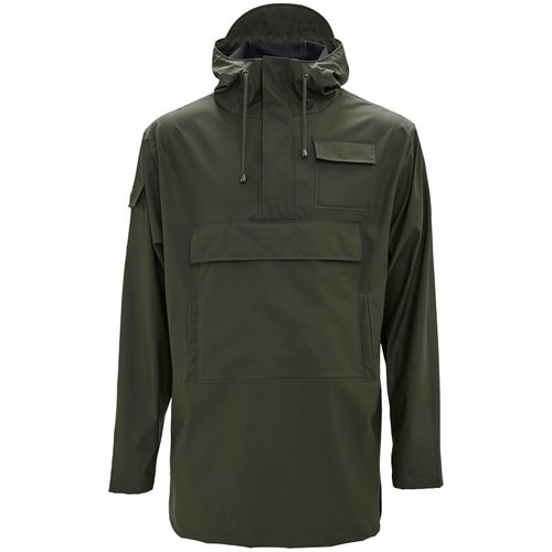 Rains Camp Anorak Jacket - 03 Green