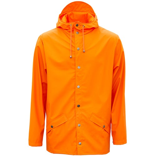 Rains Classic Jacket - 83 Fire Orange