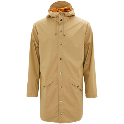 Rains Long Jacket - 30 Desert
