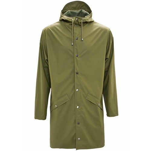 Rains Long Jacket - 78 Sage
