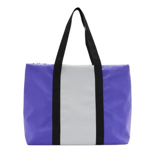 Rains City Tote Shopper Bag - 86 Lilac/stone