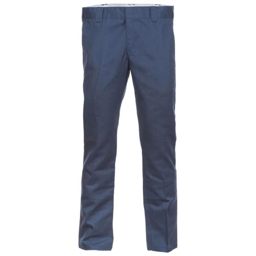 Dickies WP872 Slim Fit Work Pants - Navy Blue