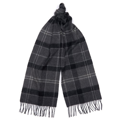 Barbour Classic Check Tartan Scarf - Black