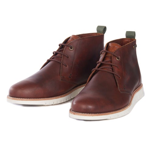 Barbour Burghley Boots - Chestnut