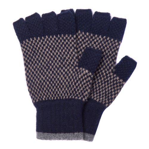 Barbour Brodie Gloves - Navy