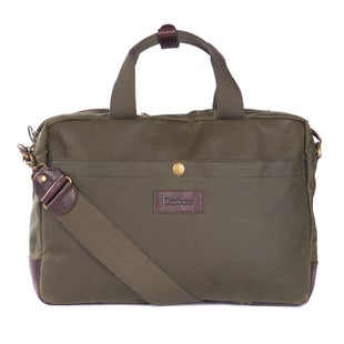 Barbour Lowerfell Business Bag - Archive Olive