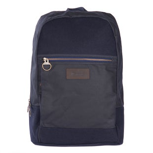 Barbour Carlton Nautical Backpack - Navy