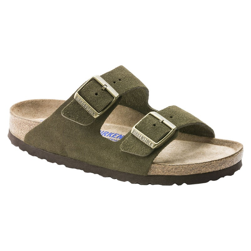 dd1ef3d98 Birkenstock Arizona Suede Leather Soft Footbed Sandals available ...