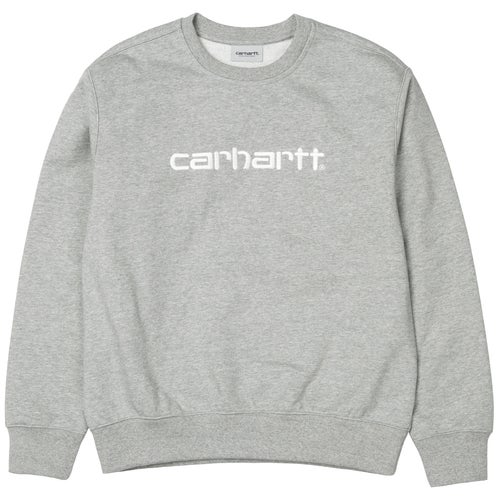 Carhartt Mens Sweater - Grey Heather White