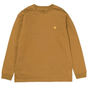 Carhartt Chase 2018 LS T-Shirt - Hamilton Brown Gold