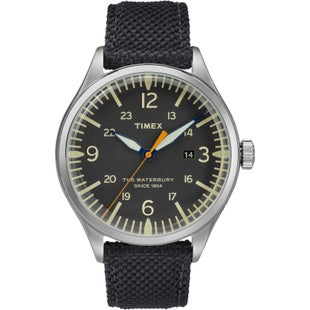 Timex Waterbury Traditional Watch - Stainless Steel