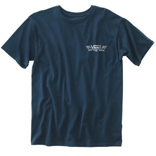 Vans Crossed Sticks T Shirt - Navy