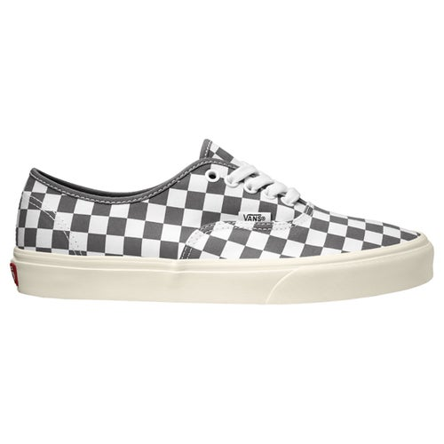 Vans Authentic Checkerboard Shoes - Grey White