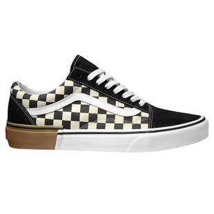 Vans Old Skool Gum Block Shoes - Black Brown Cream
