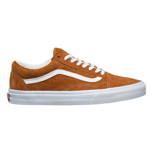 Vans Old Skool Pig Suede Shoes - Brown White