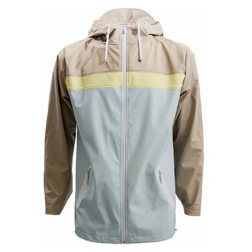Rains Breaker 17 Jacket - Sand Lt Blue Lt Yellow