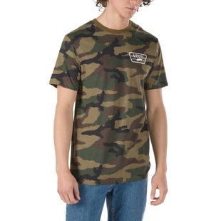 Vans Full Patch Back T Shirt - Camo White