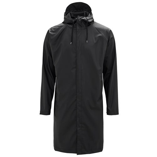 Rains Coat Jacket - 01 Black