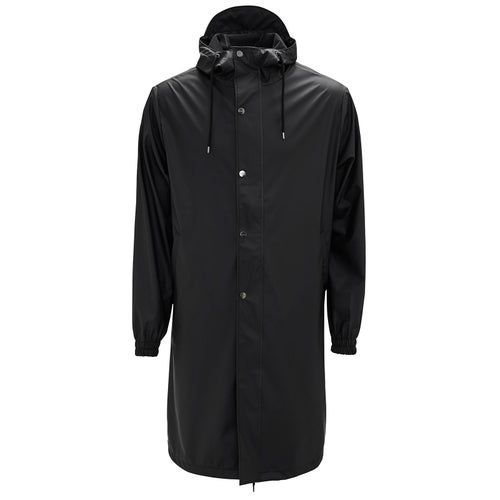 Rains Fishtail Parka Jacket - 01 Black