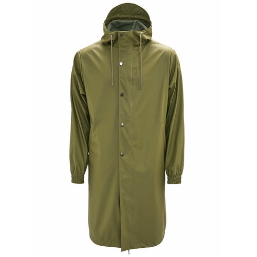 Rains Fishtail Parka Jacket - 78 Sage