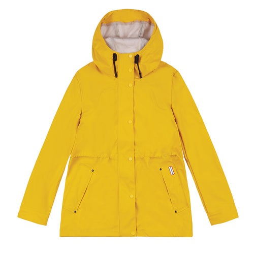 Hunter Original Lightweight Rubberised Ladies Jacket - Yellow