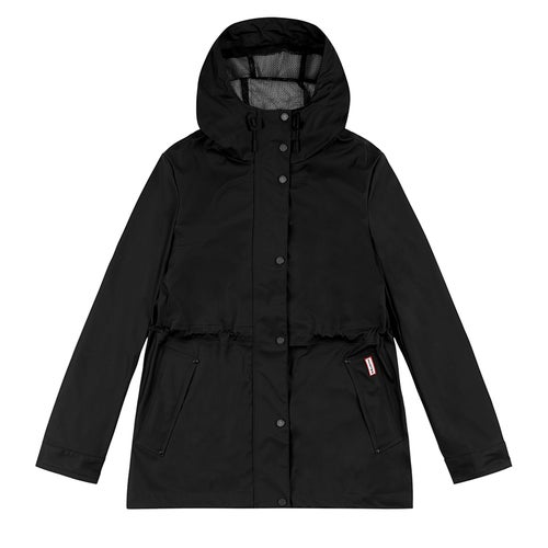Hunter Original Lightweight Rubberised Ladies Jacket - Black