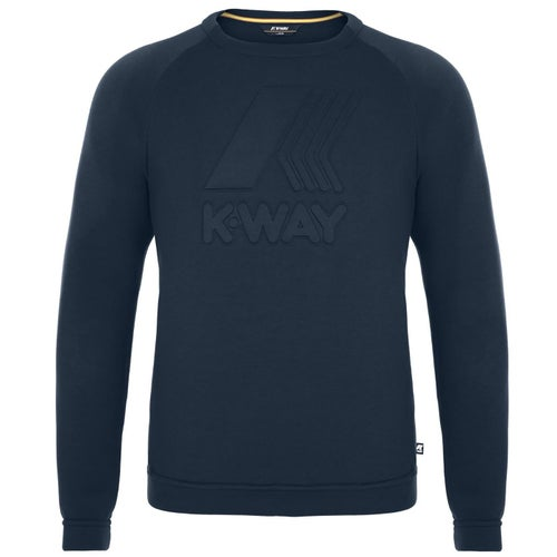 K-Way Augustine Spacer Macro Sweater - Blue Depth