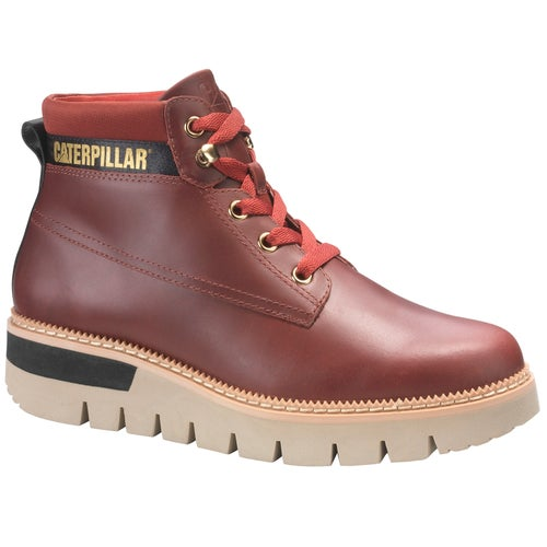 Caterpillar Pastime Ladies Boots - Wine