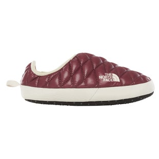 North Face Thermoball Tent Mule IV Ladies Slippers - Shiny Fig Vintage White