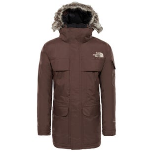 North Face McMurdo Parka Down Jacket - Bracken Brown