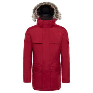 North Face McMurdo Parka Down Jacket - Rumba Red
