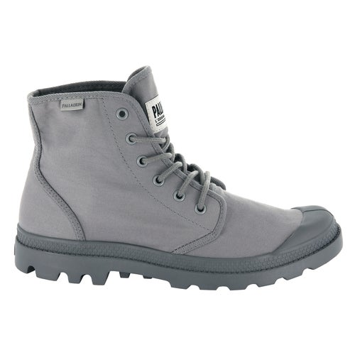 Palladium Pampa Hi O Tc U Boots - Cloudburst Charcoal Gray