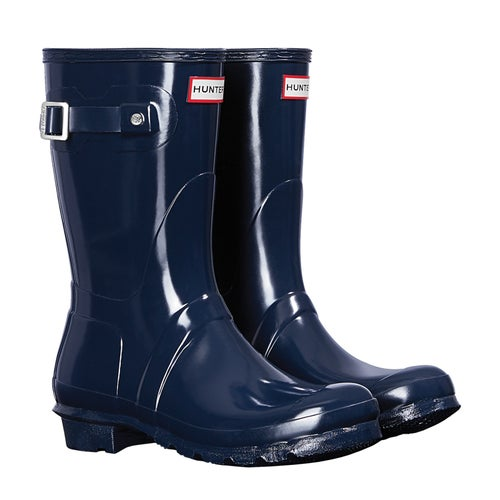 Hunter Original Short Gloss Ladies Wellies