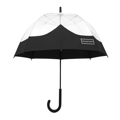 Hunter Original Moustache Bubble Umbrella - Black