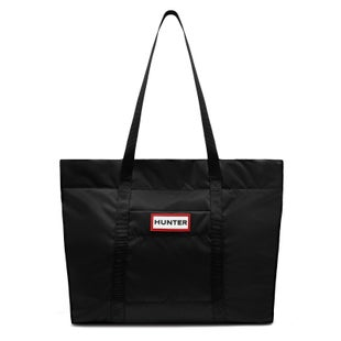 Hunter Original Puffer Ladies Shopper Bag - Black