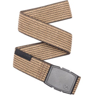 Arcade Belts Edmond Web Belt - Brown/caramel