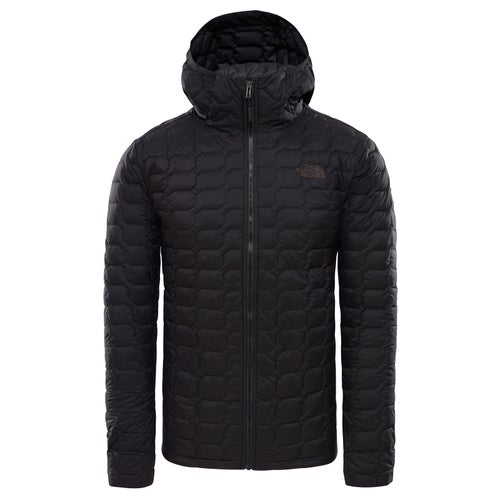 North Face Thermoball Hooded Jacket - Tnf Black Matte