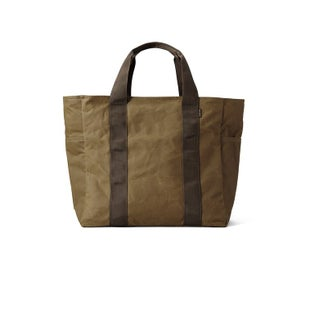 Filson Grab N Go Tote-large Shopper Bag - Dktanbrown
