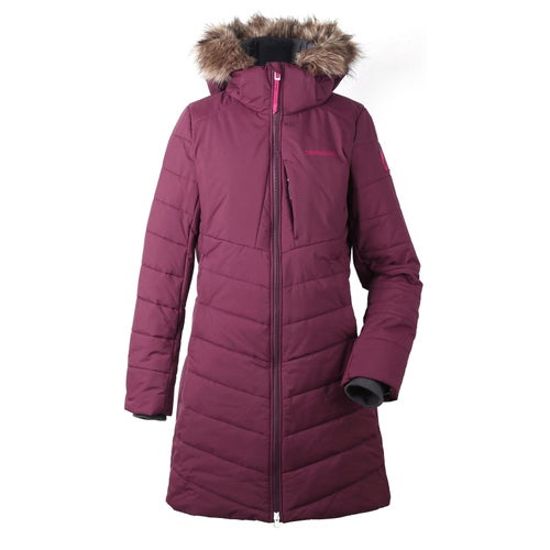 Didriksons Natasha Jacket - Wine Red