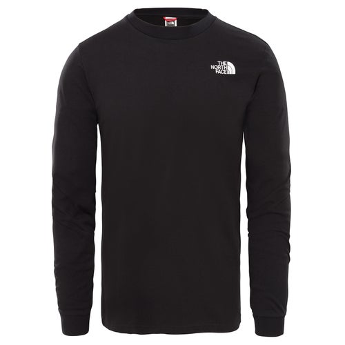 North Face Simple Dome LS T-Shirt - TNF Black