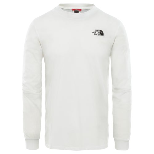North Face Simple Dome LS T-Shirt - TNF White